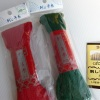 最近流行りの刺繍コーナーの片隅で刺し子の針と糸を買いました