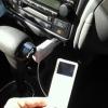 iPod touchの音楽を車で聞く♪